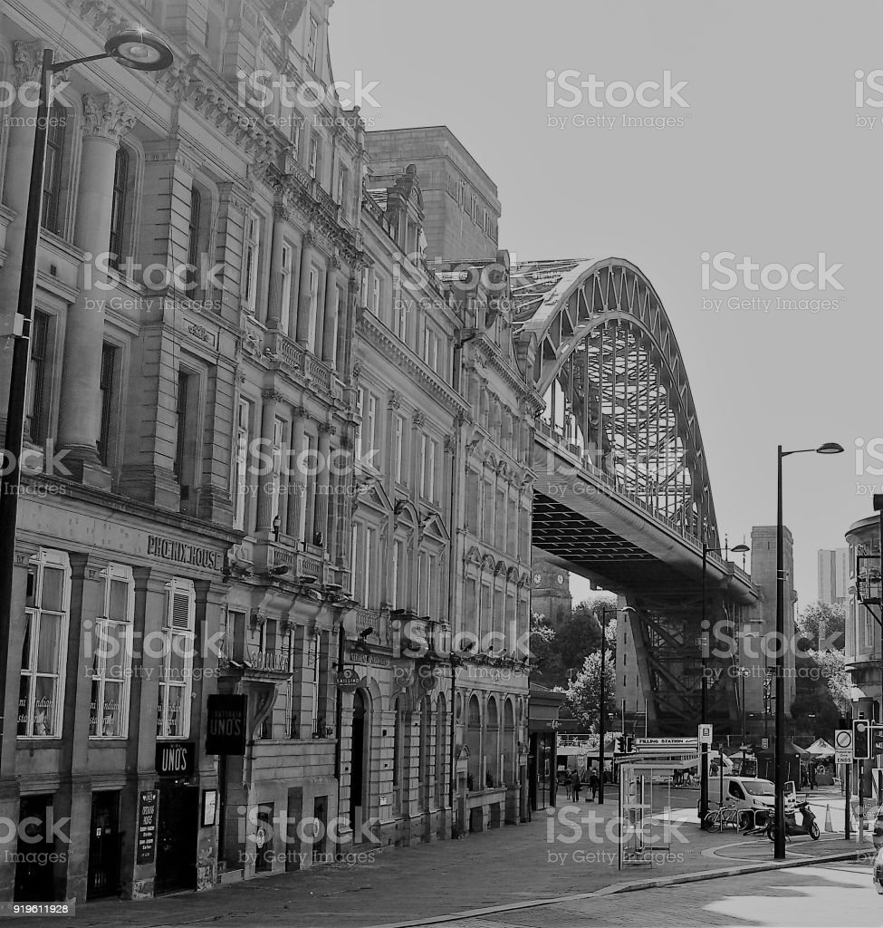 Tyne bridge royalty free stock photo