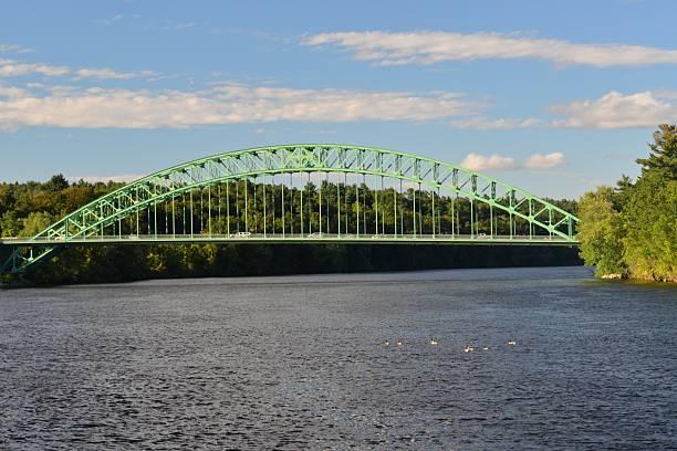 Tyngsboro Bridge stock photo