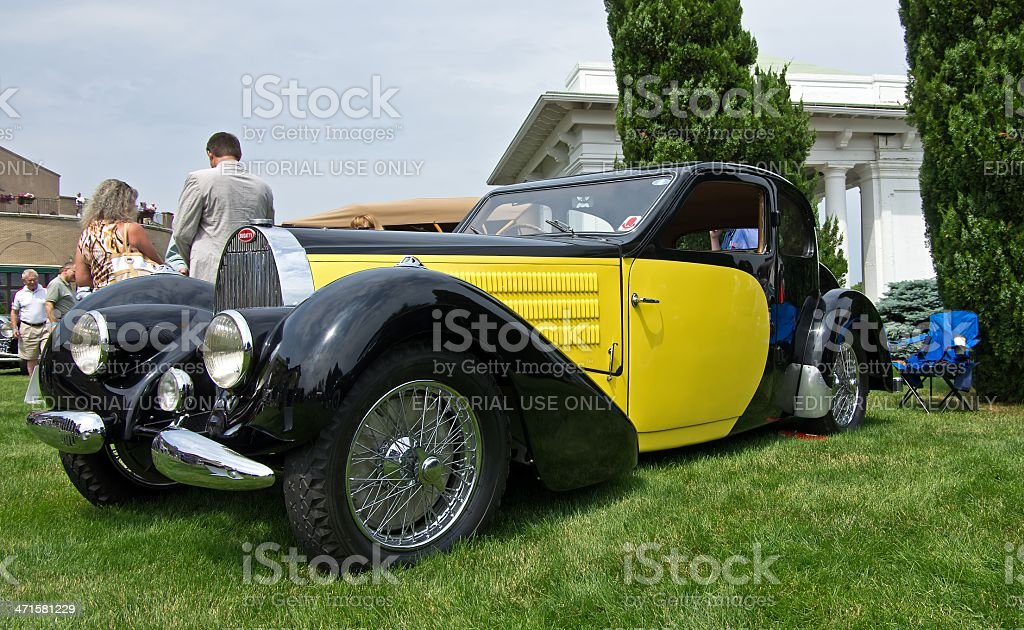 Type 57 Bugatti stock photo