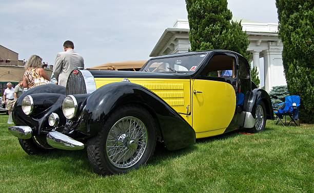 Type 57 Bugatti stock photo