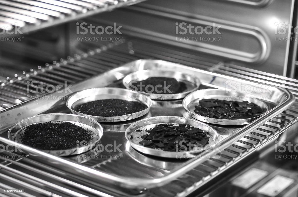 type of Activated Carbon chemical stock photo