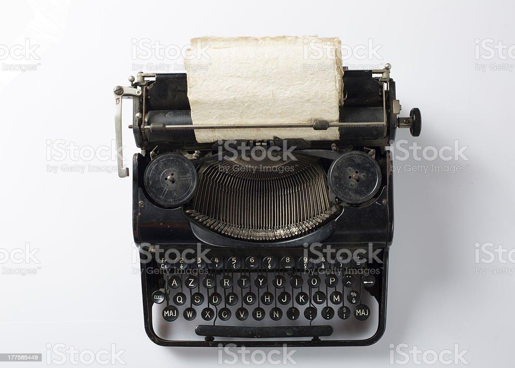 type writer royalty-free stock photo
