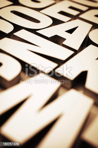 185257431 istock photo Typeface 185257426