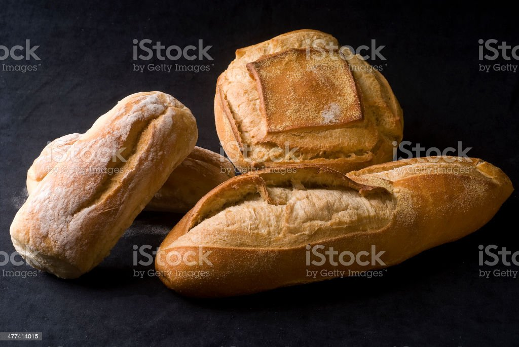 Types Of Bread stock photo