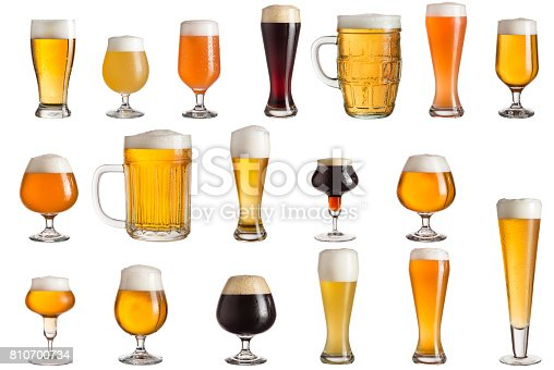 istock Types of craft beer 810700734