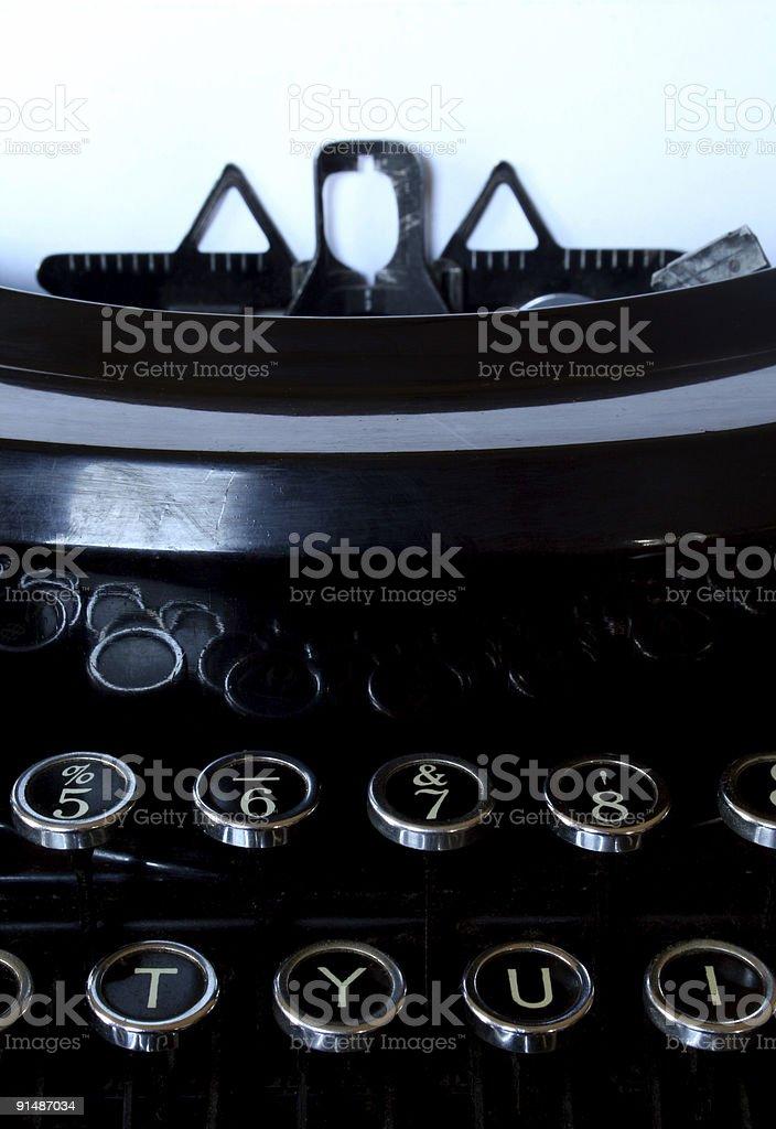Schreibmaschine Nahaufnahme – Foto