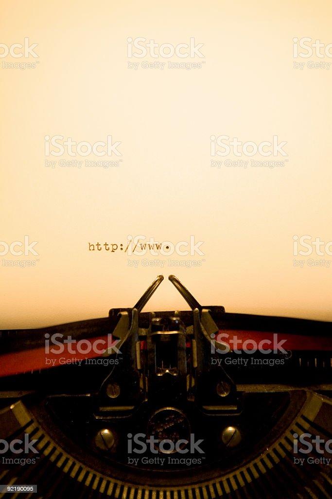 Typewriter - http://www. royalty-free stock photo