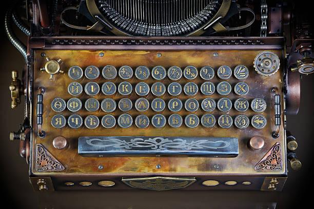Schreibmaschinentastatur – Foto