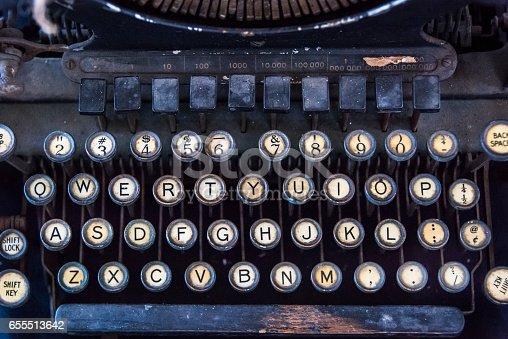 istock typewriter keyboard 655513642