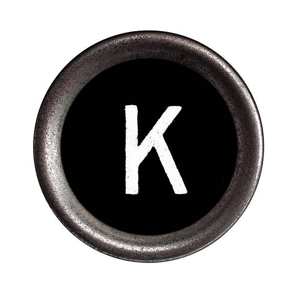появление ключи - буква k стоковые фото и изображения