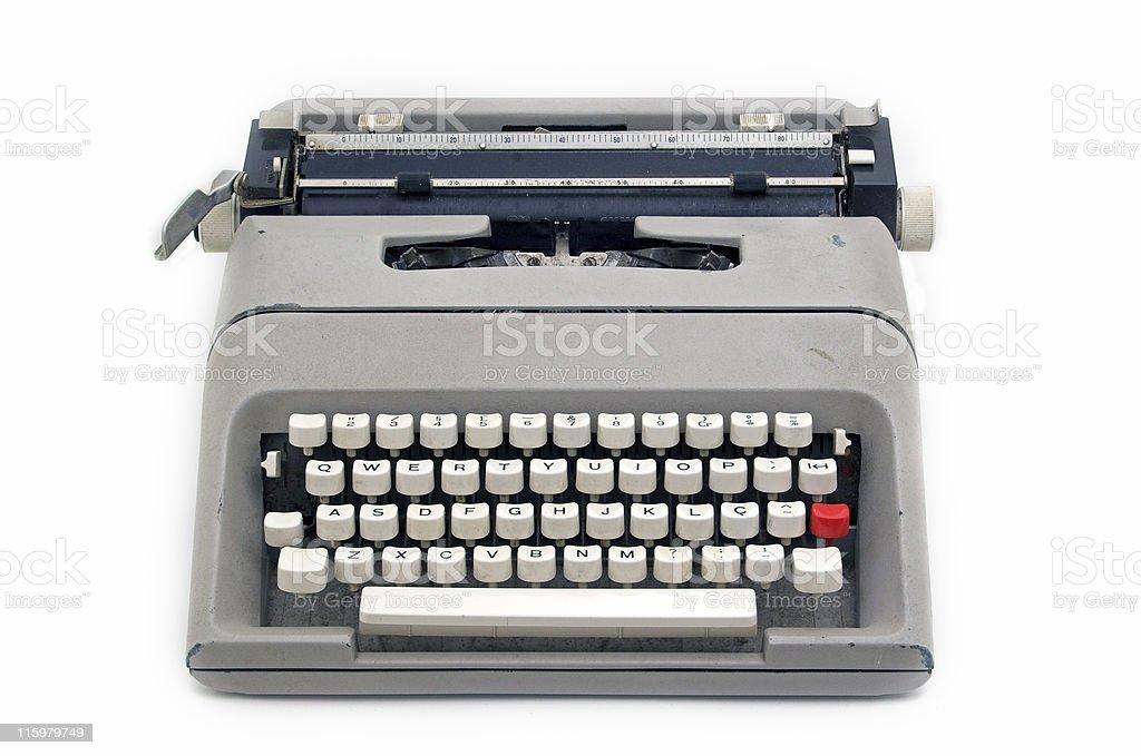 Typewriter machine royalty-free stock photo