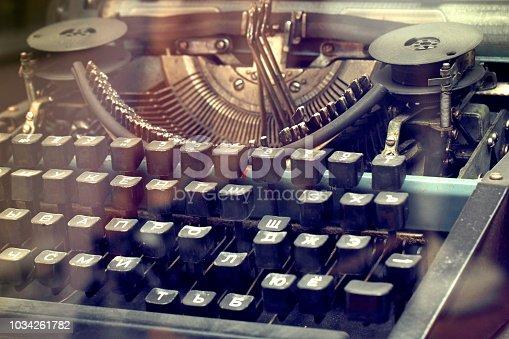504606248 istock photo Typewriter 1034261782