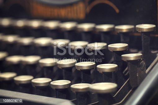 504606248 istock photo Typewriter 1035029210
