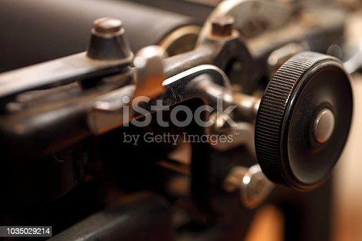 504606248 istock photo Typewriter 1035029214