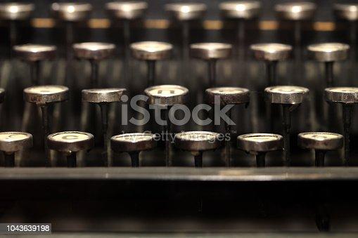 504606248 istock photo Typewriter 1043639198