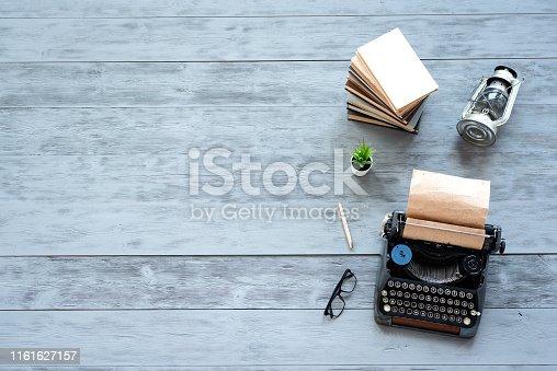 istock Typewriter. 1161627157