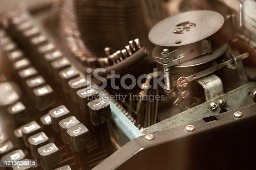 504606248 istock photo Typewriter 1213638015