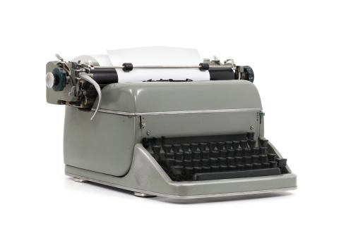 Typewriter Stock Photo - Download Image Now