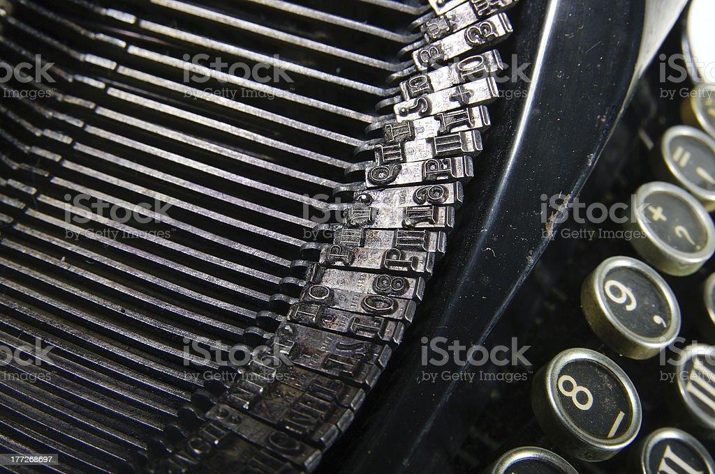 typewriter royalty-free stock photo