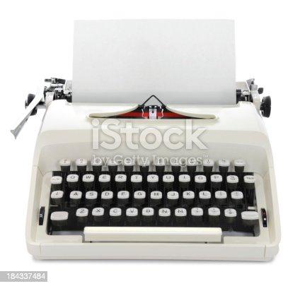 istock Typewriter 184337484
