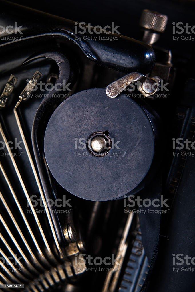 Typewriter Ribbon Detail royalty-free stock photo