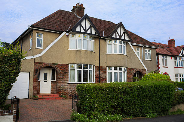 Royalty Free Semi Detached House Pictures, Images and Stock Photos - iStock