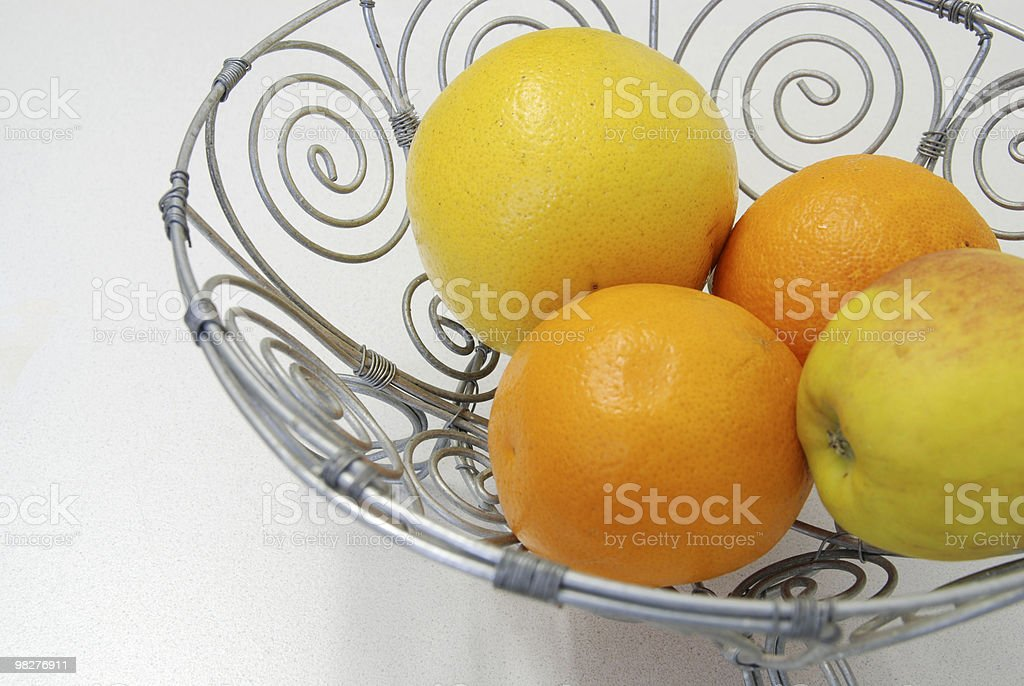 typical african style fruit bowl royalty-free stock photo