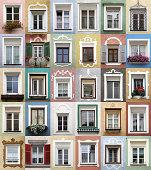 istock Typical alpine windows frame decorated - XXXL 462199945