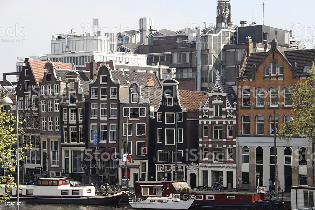 typical amsterdam royalty-free stock photo