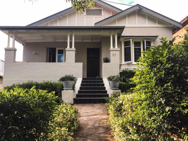 Typisch australische Haus – Foto
