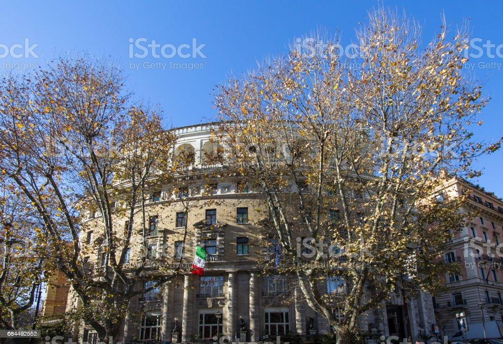 Typical Beautiful Modern House Rome Foto de stock y más banco de