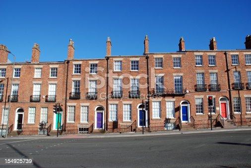Tipiche case inglesi fotografie stock e altre immagini for Case inglesi foto