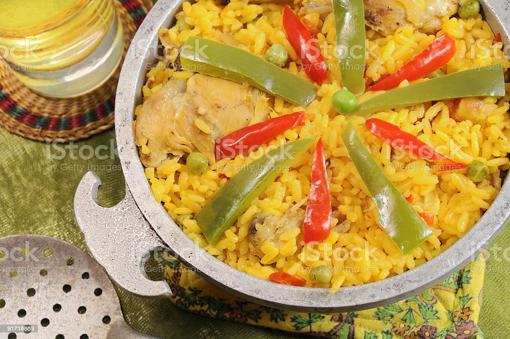 typical cuban dish stock photo