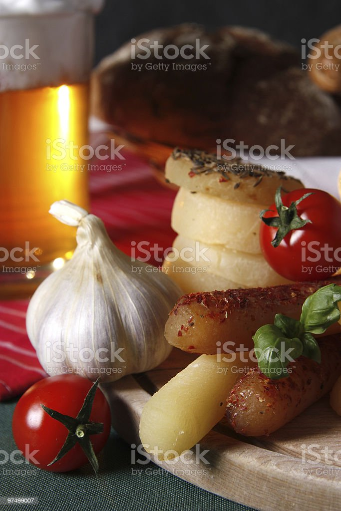 typical Czech cheese royalty-free stock photo