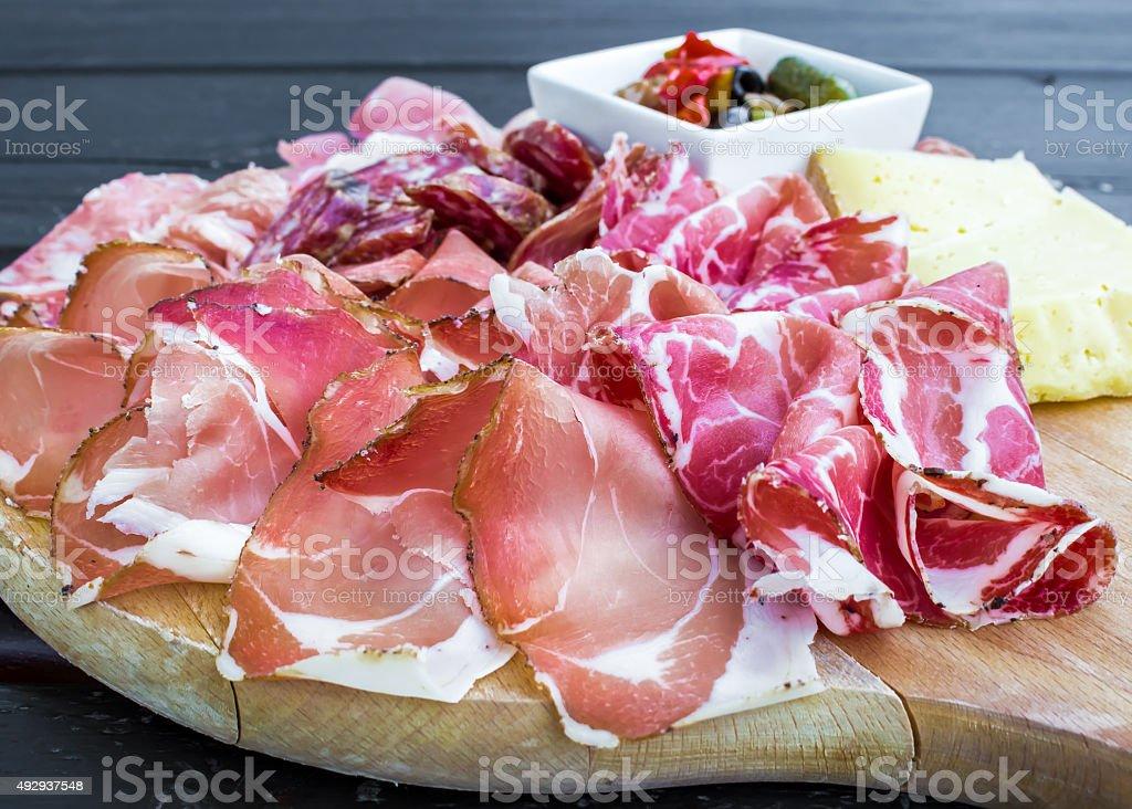 Typisches Gericht der italienische Vorspeise – Foto
