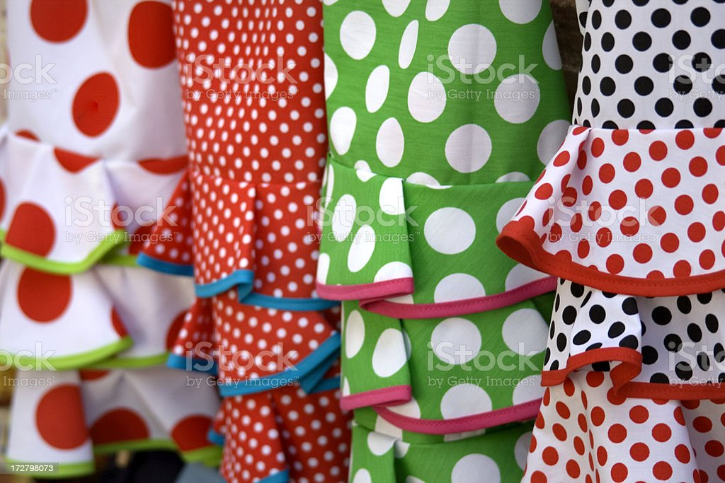 typical dresses royalty-free stock photo
