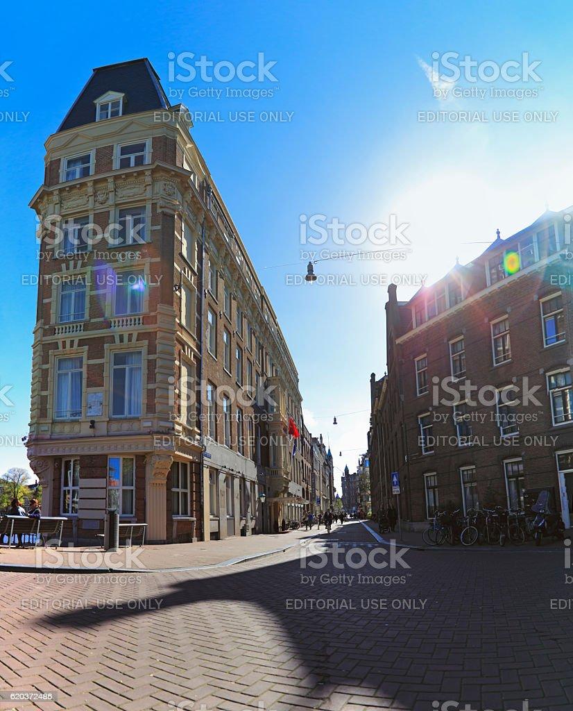 Typical Dutch Houses foto de stock royalty-free