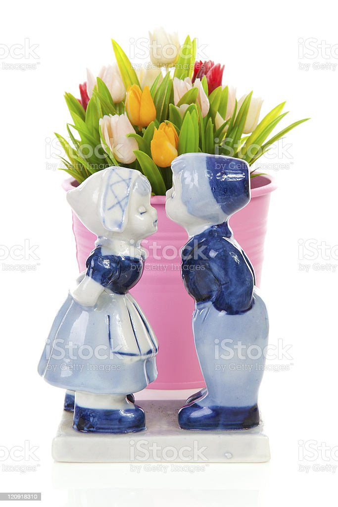 Typical Dutch souvenir stock photo