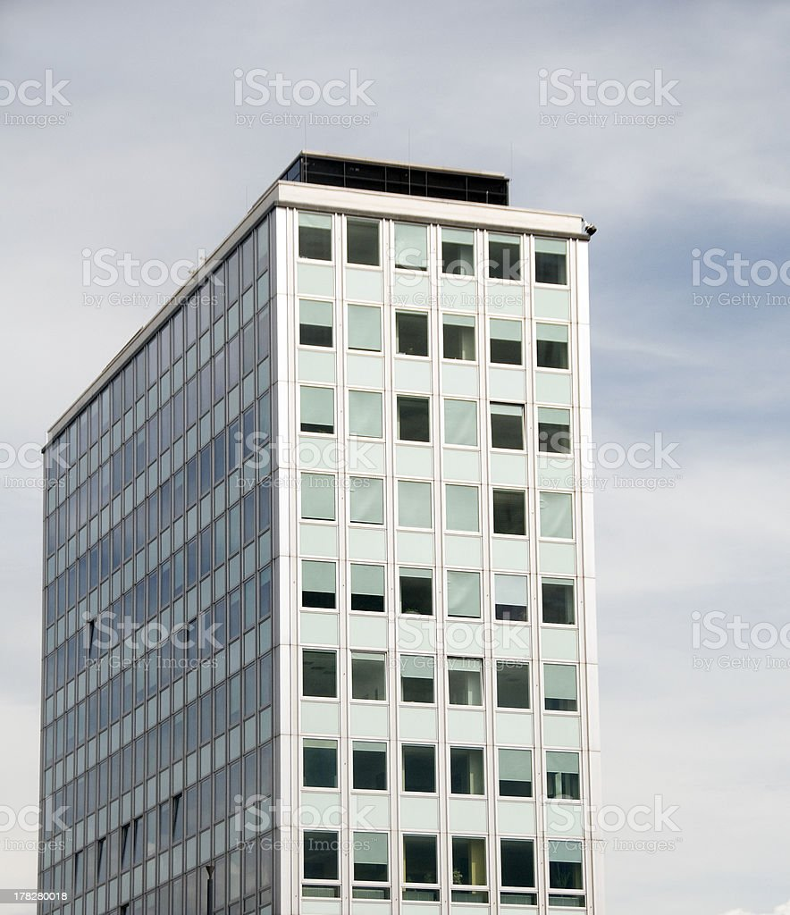typical East Berlin condo architecture stock photo