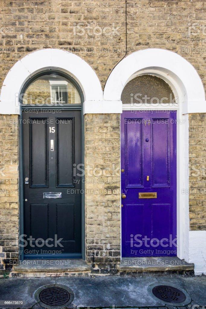 Gut bekannt Typische Englische Haustüren Stockfoto und mehr Bilder von Alt GJ73