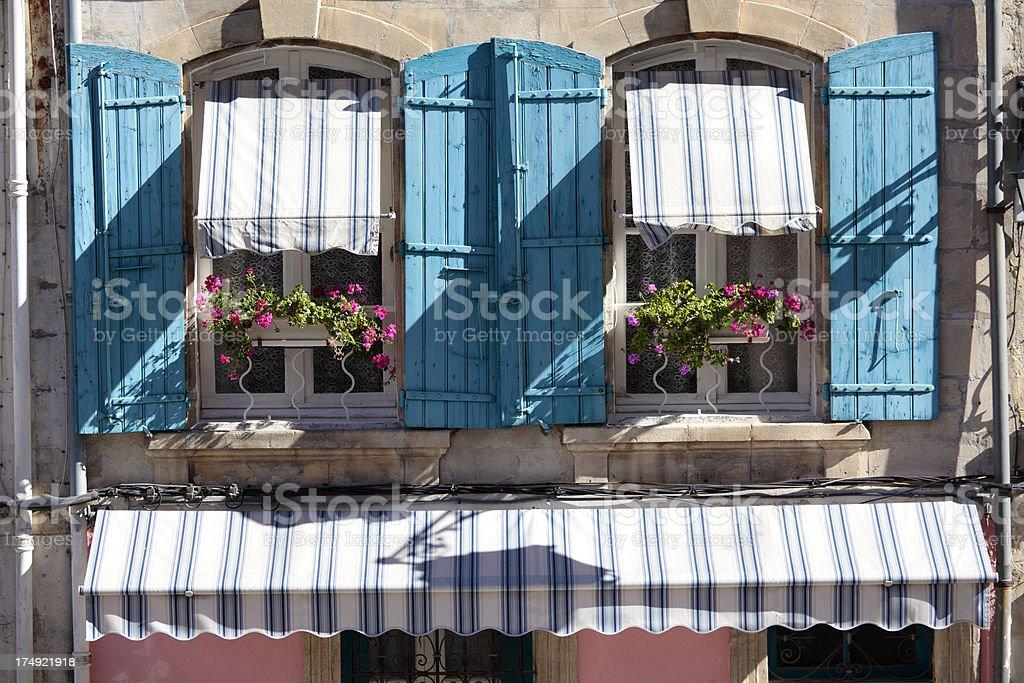 Typisch Franzosische Fenster Motiv Stock Fotografie Und Mehr Bilder