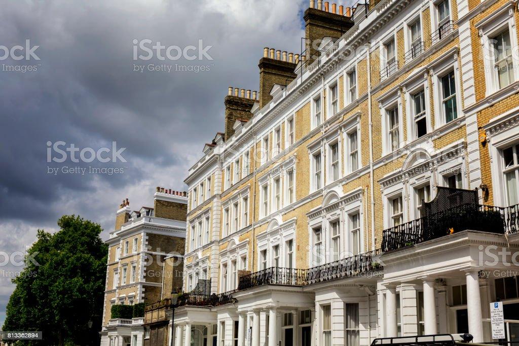 Casas De Estilo Georgiano En Terrazas En Chelsea London Foto