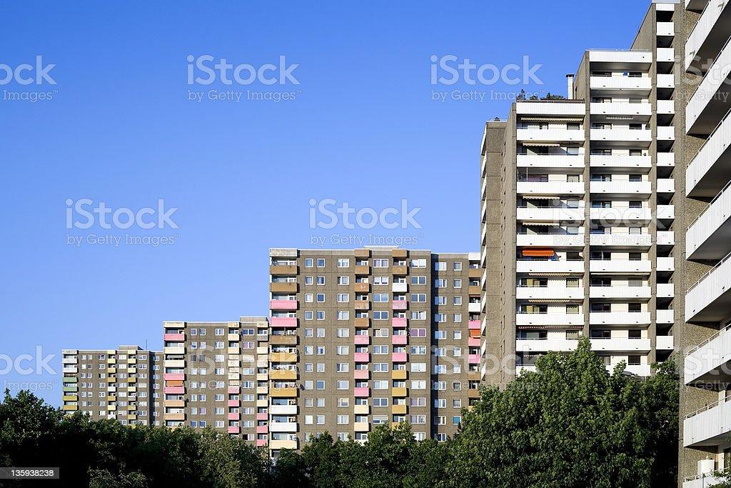 Typisches Deutsches Vorort flats – Foto