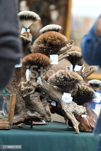 istock A typical hat with a chamois beard (a bundle with chamois hair) in the Salzkammergut (Upper Austria, Austria) 1216652323