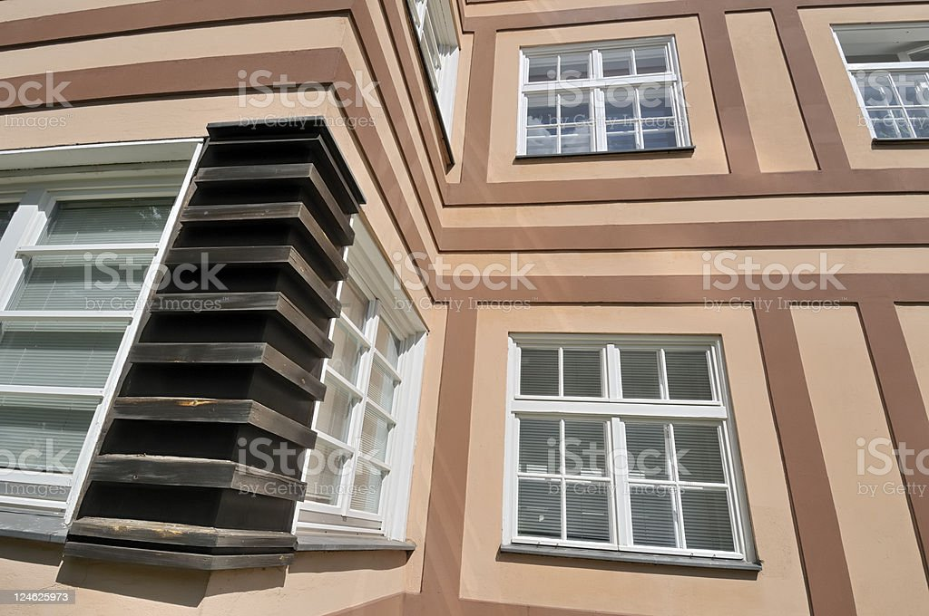 typical home in Steglitz district royalty-free stock photo