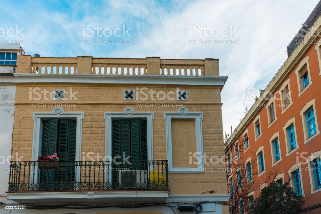 Foto De Casas Tipicas Em Barcelona E Mais Fotos De Stock De Apartamento Istock