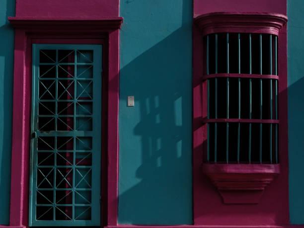 vivienda típica de maracaibo. - maracaibo fotografías e imágenes de stock