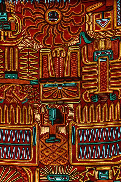 典型的なインカのクロス模様 - インカ ストックフォトと画像