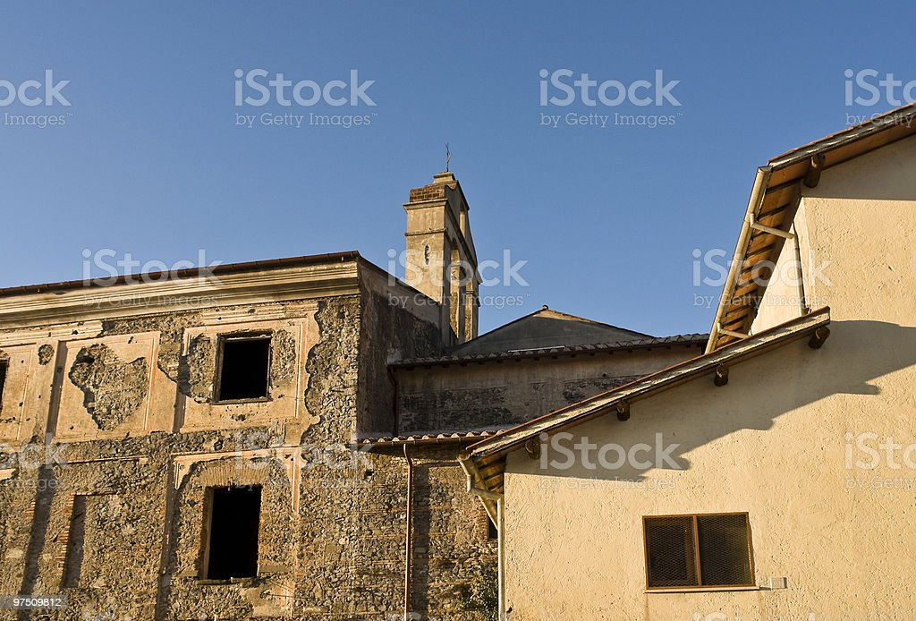 Typical italian architecture royalty-free stock photo