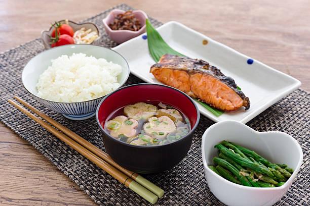 伝統的な和食の朝食の画像 - 和食 ストックフォトと画像